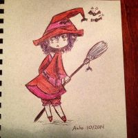 Daily Doodle 1 10/2014 by Auto-nin13