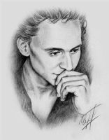 Tom Hiddleston by KseniaParetsky