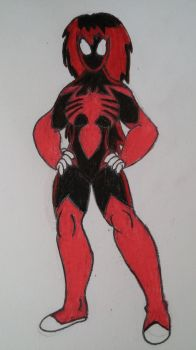 Spider-Woman (Mary Jane Watson) by DinobotEd