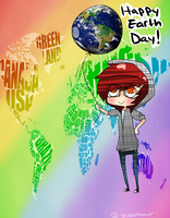 Earth Day by Geekasaur