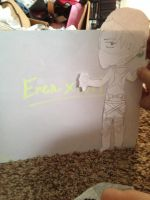 Not Allowed! Eren x Levi paper doll by invadersharie