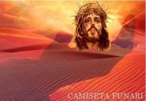 jesus cristo crucificado by camiseta-funari