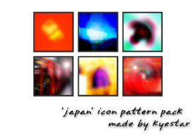 'japan' pattern pack - 100x100 by kyestar