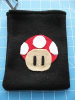 DS Carrying Case - Mushroom 2 by PaperCadence