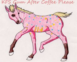 KFS Gum After Coffee Please foal by rempage