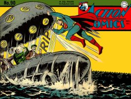 Action Comics 90 - Remake by Superman8193