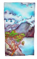 Arbutus and Clouds by TamlinSky