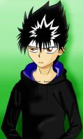 "Hiei - ""Whatever."" by Damien0fDoom"