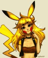 Pikachu Girl by MysteriousPancake