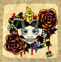 Loved To Death by Vicki-Death