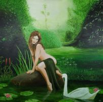 Leda and the Swan AP by Pygar