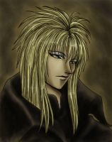 Labyrinth: Jareth Portait by raerae