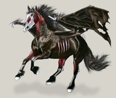 Undead Horse by Blashina