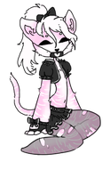 punk kitten adopt [CLOSED] by togekissuadopts