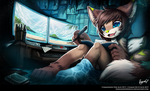 Commission for Alyx-XCV by PenguinEXperience