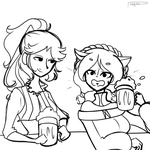 Gelea OC's + Gift: YOU KNOW WHAT...! (DIALOGUE) by Pl-e-a-s-e