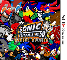 Sonic Rivals 3D - Arcade Edition (Box Art) by AskSoloTheSoulhog