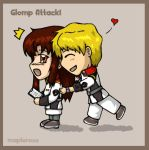 GS - Glomp Attack by MapleRose