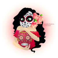 Day Of The Dead Girl by forindet