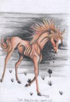 Sad Bulimia Horse by LittleSkrillexKid