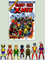 Giant Size X-Men #1 by EverydayBattman