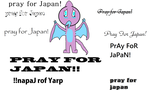 Pray for Japan by Sand-dragon1