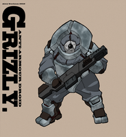 Grizzly by Greenstuff-Alex