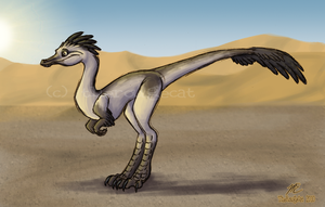 In the Desert Sun by therougecat