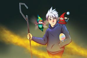 Jack Frost Art Print Comic Fiesta 2012 by MatsuoAmon