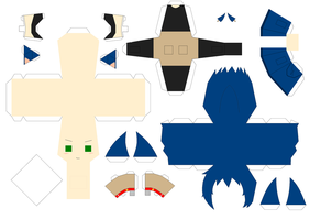 Sonic Papercraft Template by Huski-Fan