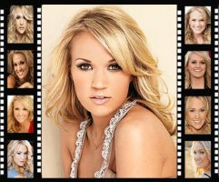 Carrie Underwood Filmstrip by Mistify24