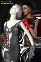 3-D-C Babes - Laura and Anna 01 by 3-d-c