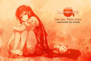 Our Art, Their Lives by LDGA