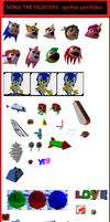 sonic fighters sprites perdido by sonicnews