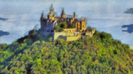 Hohenzollern Castle by TrueNights