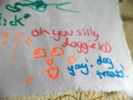 Oh you silly doggie by KittyNinja2009