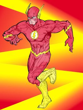 Flash (by seba316) Colors by ArteDigitalSA