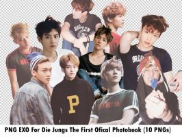 (PNG) EXO For Die Jungs Photobook #2 by Lizzie137