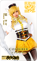Tomoe Mami Coscard 2 by ConJurer-CJ