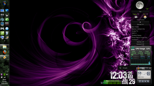 Desktop Experiments! [11] (WinBlinds/Rainmeter) by Rhyz66