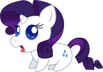 Blerg Ponies - Rarity by SummersWorld