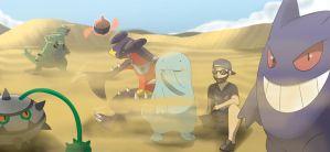 Pokemon Team: Blessur by All0412