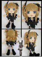 Death Note Misa Amane Plushie by ichigo-pan43