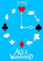 Alice in Wonderland by midget525