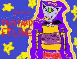 Mustard Feline by Magshire