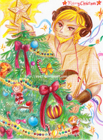 WT SS : Terrin and Christmas Tree by 2947