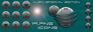 Alien special edition png icon by coolcat21
