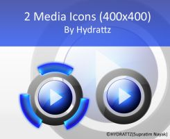 Media Icons by HYDRATTZ by Vande-Mataram