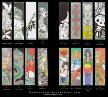 Bookmarks available by DawnstarW