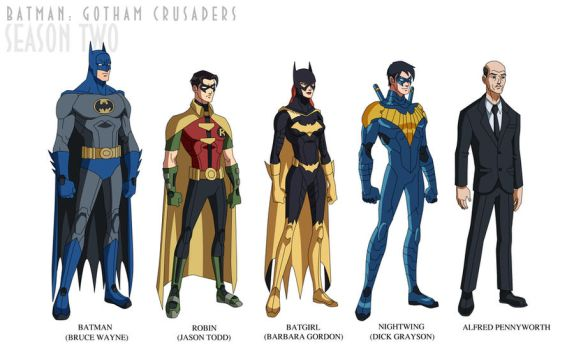 Batman: Gotham Crusaders - Season Two by phil-cho